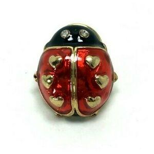🐞Vintage Avon Love Bug Ladybug Tac Lapel Pin